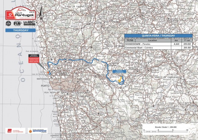 Mapa Quinta-feira VRP2020