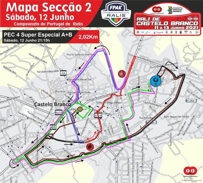 Mapa Seccao 2 RCB 2021